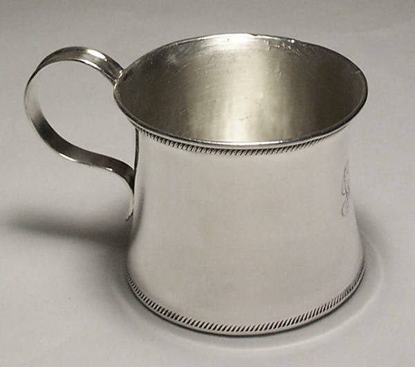 Sterling Silver Baby Cup Restored